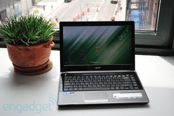 Acer TimelineX 4820T - display