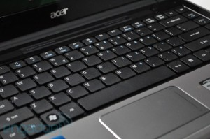 Acer TimelineX 4820T - touchpad
