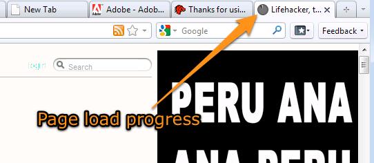 Firefox 4 - incarcarea paginii
