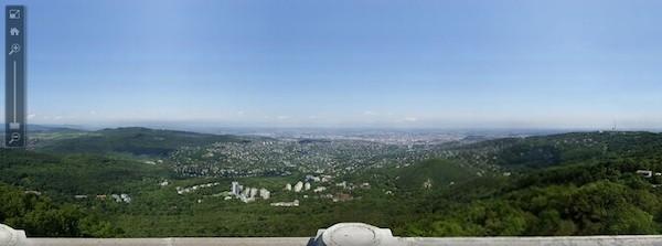 Imagine de 70 gigapixeli Budapesta