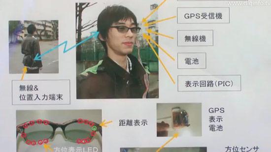 Ochelari cu GPS