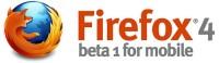Firefox Mobile beta 4