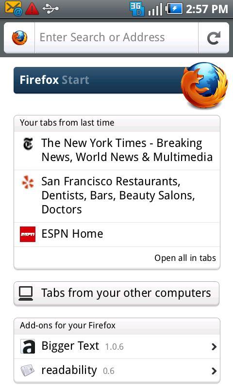 firefox mobile 6