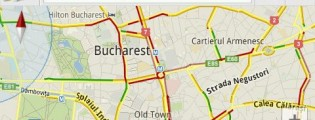google maps trafic live in bucuresti