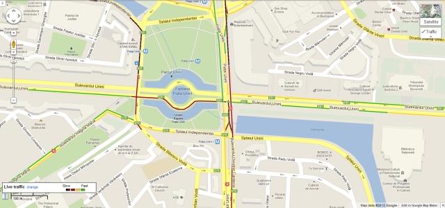 google maps trafic live