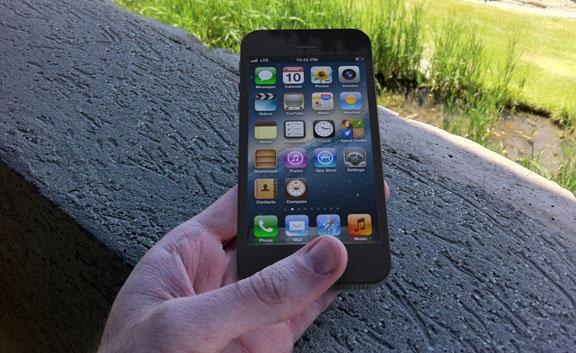 iPhone față