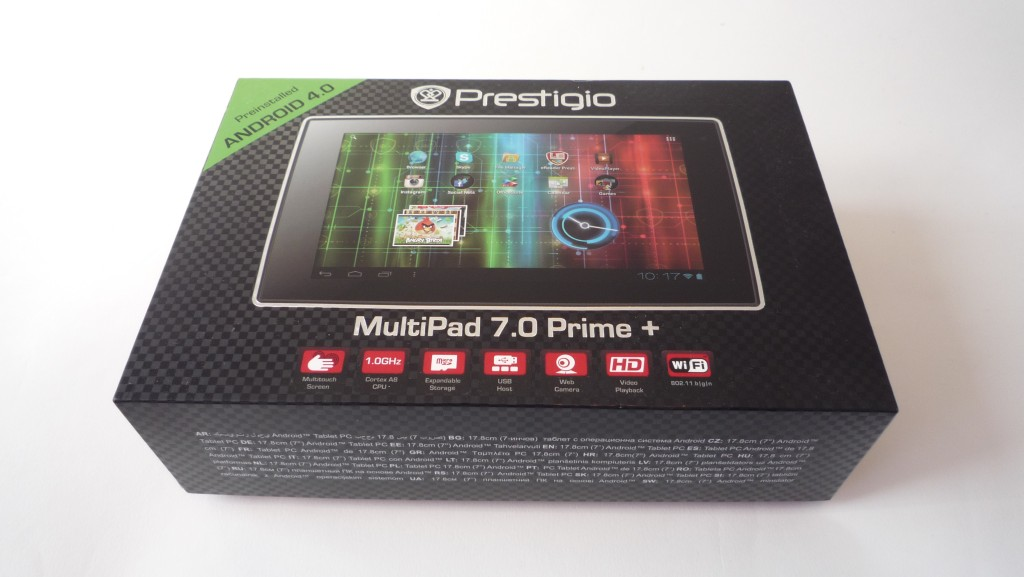 Prestigio MultiPad 7.0 Prime Plus - Review 01