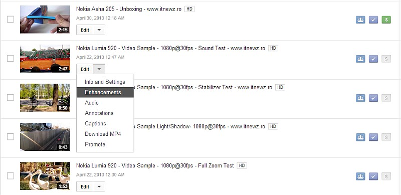 Youtube Enhancements