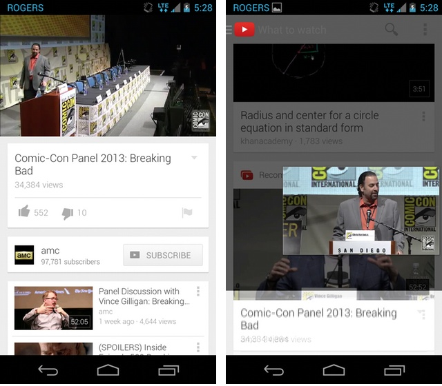 YouTube 5.0 - Multitasking