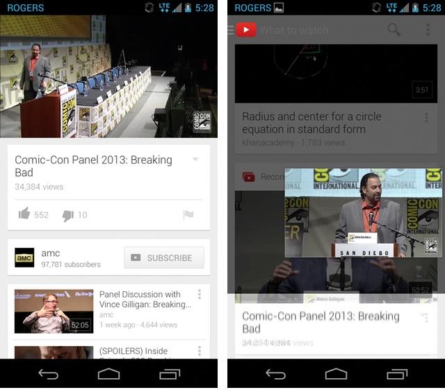YouTube 5.0 - Multitasking