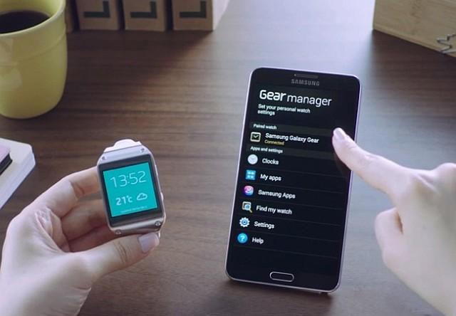 Galaxy Note 3 si Galaxy Gear