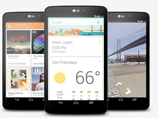 LG G Pad Google Play