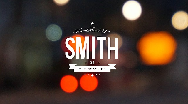 Wordpress 3.9 - Jimmy Smith