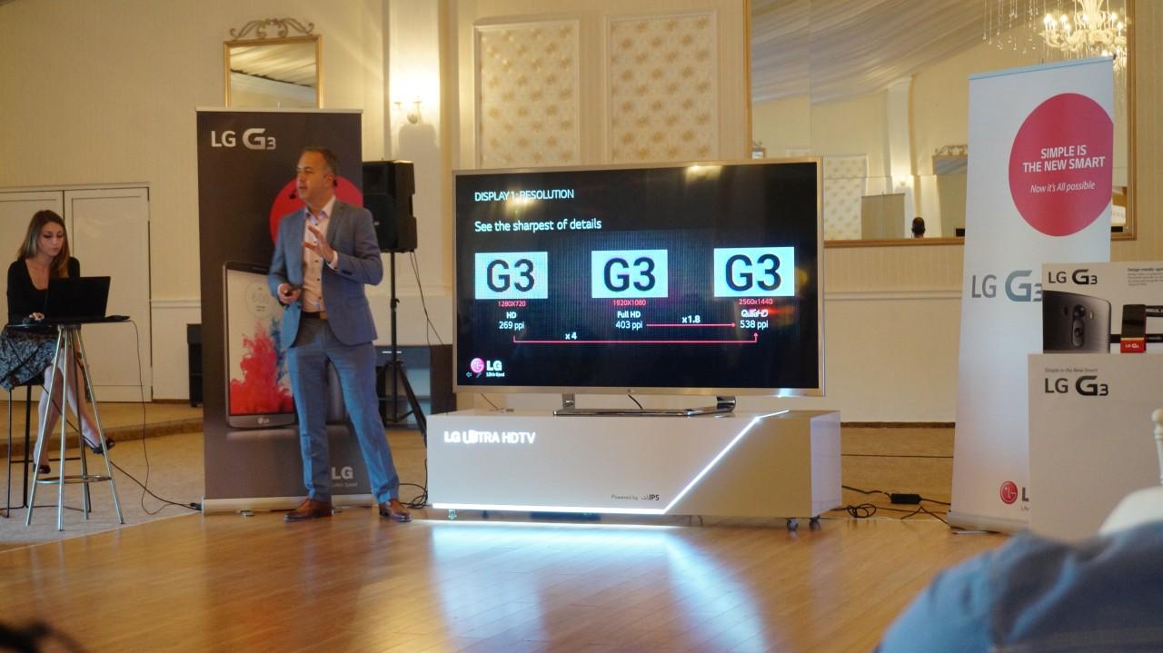 Prezentare LG G3 - Romania 01
