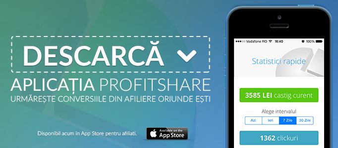 Banner aplicatie Profitshare