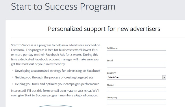 Facebook Success Program