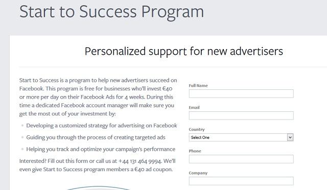 Facebook Success Program