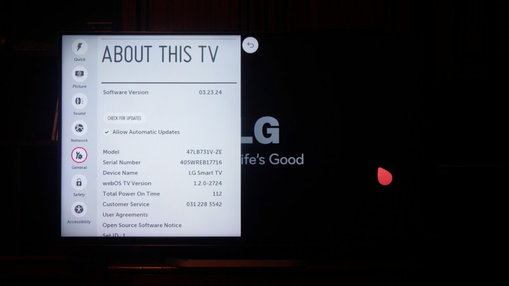 Televizor SMART 3D LG 47LB731V - Review 28