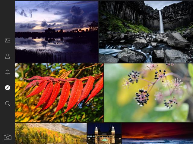 Flickr pentru iPad