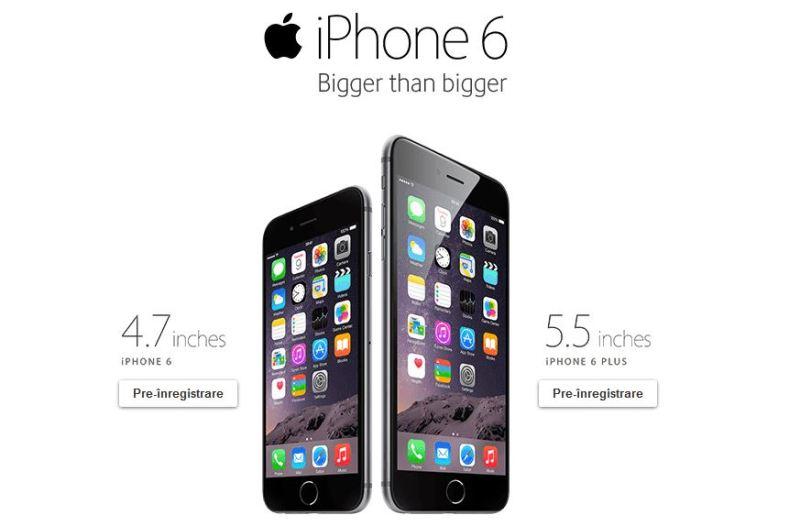 Precomanda iPhone 6 Vodafone