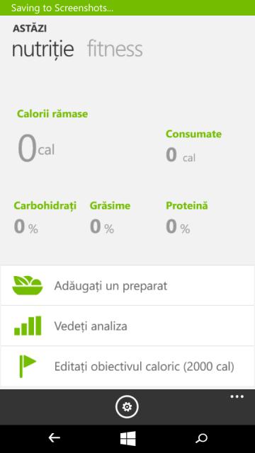 Lumia 535 - Fitness & Sanatate 2
