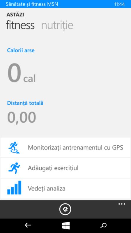 Lumia 535 - Fitness & Sanatate