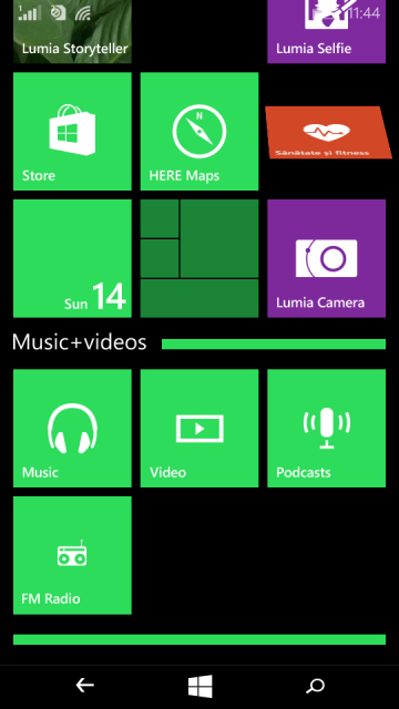 Lumia 535 - Foldere
