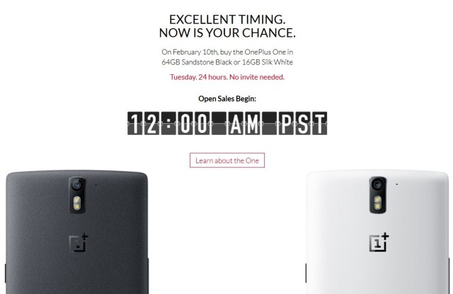 OnePlus One fara invitatie