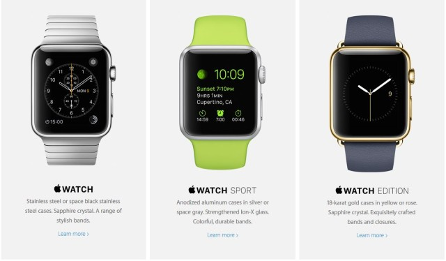 Apple Watch - Variante
