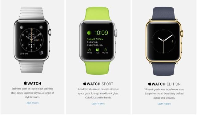 Apple Watch - Variante