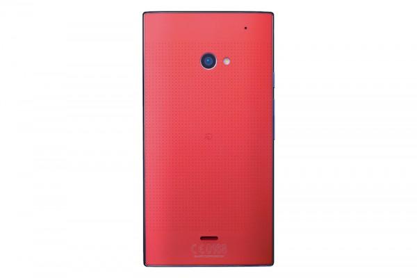 Sharp AQUOS Crystal 2 Red