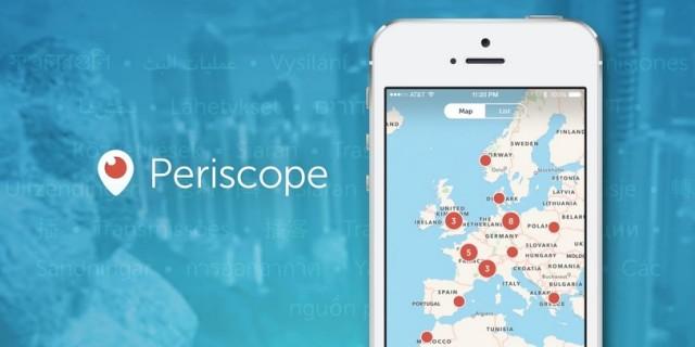 Periscope Live Map