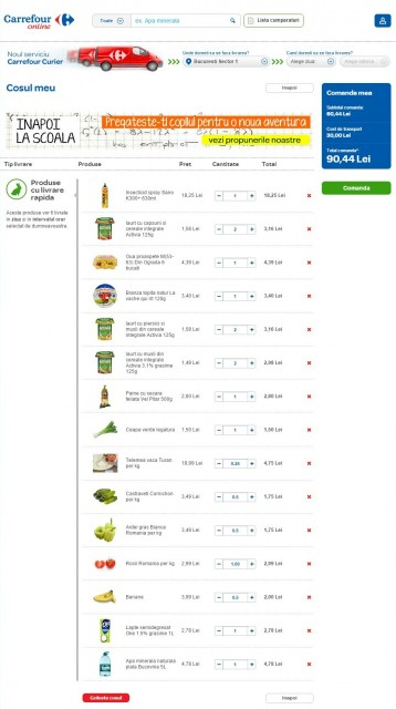 Carrefour-Online.ro Cos
