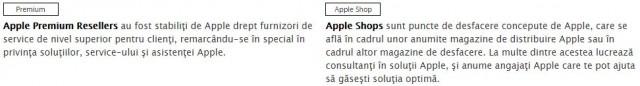 Apple Premium Reseller vs Apple Shop - RO