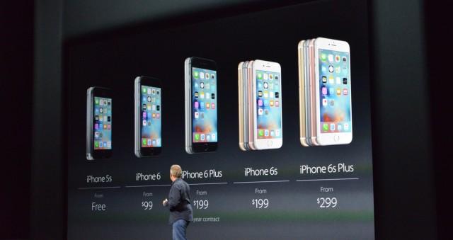Prețuri iPhone 6S si iPhone 6S Plus