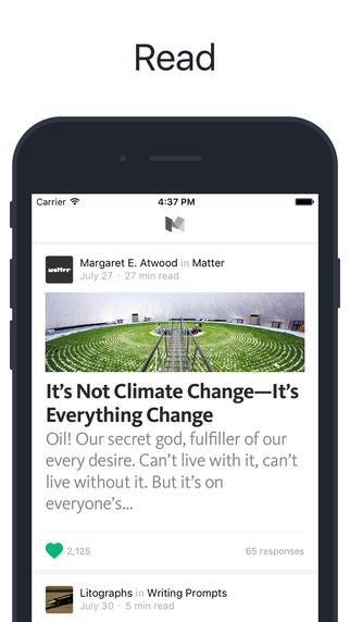 Medium iOS