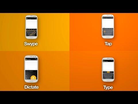 Cea mai bună tastatură Android cu dictare – Swype Keyboard