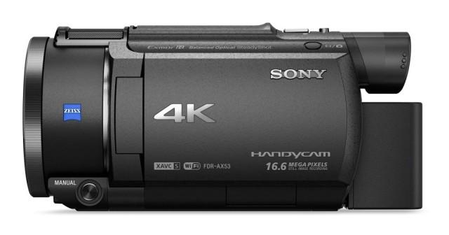 Sony 4K FDR-AX53