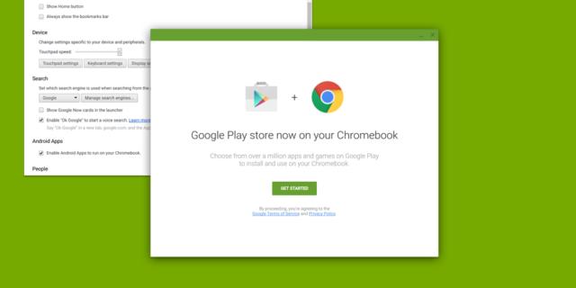 Aplicatii Android pe Chrome OS