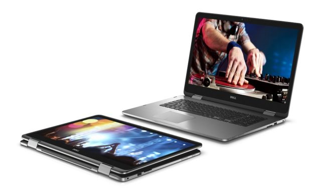 Two Dell Inspiron 17 7000 Series (Model 7778) 2-in-1 Touch notebook computesr, codename Starlord.